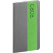 Pocket diary Davos gray-green 2020, 9 × 15,5 cm