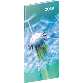 Pocket diary Detail planning monthly 2019, 8 x 18 cm