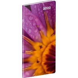 Kapesní diář Detail 2022, plánovací měsíční, 8 × 18 cm