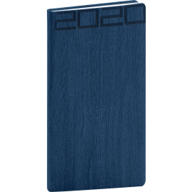 Pocket diary Forest blue 2020, 9 × 15,5 cm