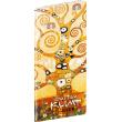Pocket diary Gustav Klimt SK planning monthly 2020, 8 × 18 cm