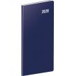 Kapesní diář Modrý SK 2020, plánovací měsíční, 8 × 18 cm