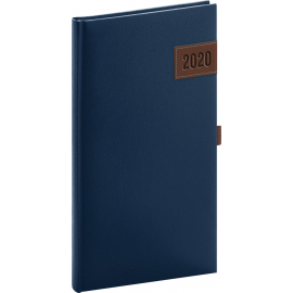 Pocket diary Tarbes blue 2020, 9 × 15,5 cm