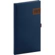 Kapesní diář Tarbes 2021, modrý, 9 × 15,5 cm