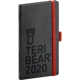 Pocket diary Teribear 2020, 9 × 15,5 cm