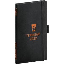 Kapesní diář Teribear 2022, 9 × 15,5 cm