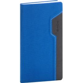 Kapesní diář Thun 2018, modročerný, 9 x 15,5 cm