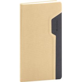 Pocket diary Thun cream-black 2019, 9 x 15,5 cm