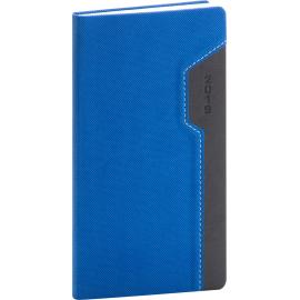 Kapesní diář Thun 2019, modrý, 9 x 15,5 cm