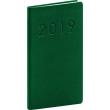 Kapesní diář Vivella Classic 2019, zelený, 9 x 15,5 cm