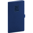 Kapesní diář Vivella Classic 2020, modrý, 9 × 15,5 cm