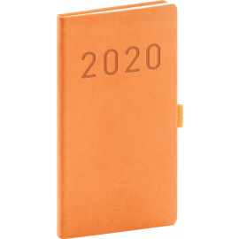 Pocket Diary Vivella Fun orange 2020, 9 × 15,5 cm