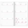 Pocket diary Vivella Fun pink 2020, 9 × 15,5 cm