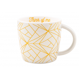 Ceramic mug Think of Me