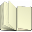 Králík, notes, 10,5 x 15,8 cm