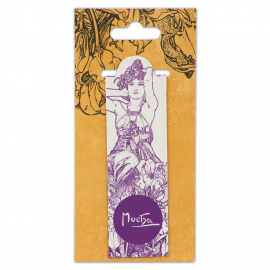Magnetic bookmark Alfons Mucha – Amethyst, Fresh Collection