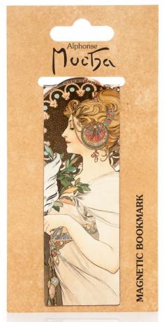 Magnetická záložka Alfons Mucha – Feather