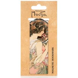 Magnetic bookmark Alfons Mucha – Primrosa