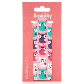 Magnetic bookmark – Owls