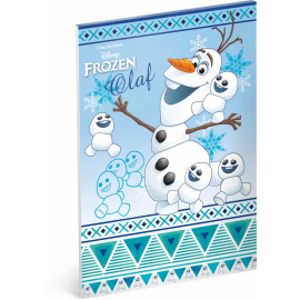 Notepad Frozen - Olaf, A4, 50 sheets, unlined