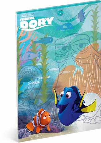 Náčrtník Hledá se Dory, A4, 50 listů, nelinkovaný