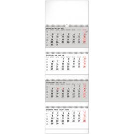 Nástěnný kalendář 4měsíční standard skládací 2022, 29,5 × 84,5 cm