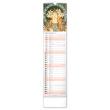 Nástěnný kalendář Alfons Mucha 2021, 12 × 48 cm