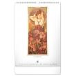 Nástěnný kalendář Alfons Mucha 2021, 33 × 46 cm