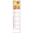 Nástěnný kalendář Alfons Mucha 2022, 12 × 48 cm