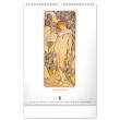 Nástěnný kalendář Alfons Mucha 2022, 33 × 46 cm