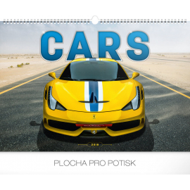 Wall calendar Cars 2018, 48 x 33 cm