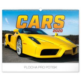 Wall calendar Cars 2020, 48 × 33 cm
