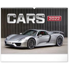 Wall calendar Cars 2022, 48 × 33 cm