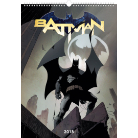 Wall calendar Batman – Comic Book Covers 2018, 33 x 46 cm