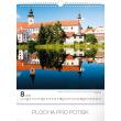 Nástěnný kalendář Česká republika 2019, 30 x 34 cm
