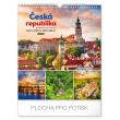 Nástěnný kalendář Česká republika 2020, 30 × 34 cm