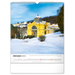 Nástěnný kalendář Česká republika 2022, 30 × 34 cm