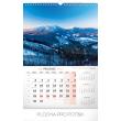 Nástěnný kalendář České hory a skály 2019, 33 x 46 cm