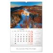 Nástěnný kalendář České hory a skály 2020, 33 × 46 cm