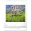 Nástěnný kalendář Český impresionismus 2020, 48 × 56 cm