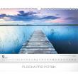 Nástěnný kalendář Cesty 2019, 48 x 33 cm