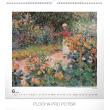 Nástěnný kalendář Claude Monet 2019, 48 x 46 cm