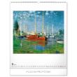 Nástěnný kalendář Claude Monet 2020, 48 × 56 cm