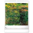 Nástěnný kalendář Claude Monet 2022, 48 × 56 cm