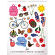 Nástěnný kalendář Collections – Kateřina Kynclová 2019, 48 x 64 cm