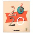 Nástěnný kalendář Dominik Miklušák 2020, 48 × 56 cm
