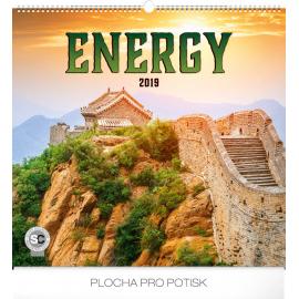 Wall calendar Energy 2019, 48 x 46 cm