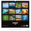 Nástěnný kalendář Energie 2019, 48 x 46 cm