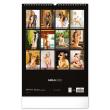 Nástěnný kalendář Girls 2022, 33 × 46 cm