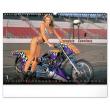Nástěnný kalendář Girls & Bikes – Jim Gianatsis 2021, 48 × 33 cm